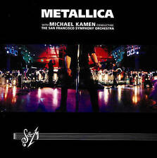Metallica S & M Live Berkeley 1999 with San Francisco Symphony Orchestra 2 DVD