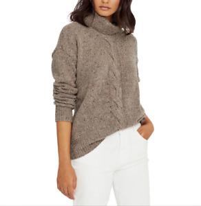 Lauren Ralph Lauren Cable-Knit Sweater MSRP $135 Size L # WW 104 NEW