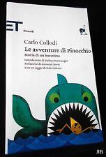 COLLODI - Le avventure di PINOCCHIO storia di un BURATTINO EINAUDI 9788806181444
