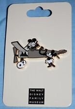 WDFM Walt Disney Family Museum Mickey Mouse & Minnie Plane Crazy Pin