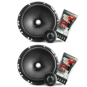 Focal Access 165A1SG 2-Way 120 W 6.5-in. Component Car Audio Speaker System, NEW