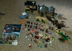 LEGO Harry Potter Lot of 5 sets w/ Minifigs Privet Drive Hagrid's Hut And More!