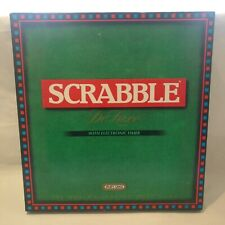 Scrabble Deluxe Turntable Board with Electronic Timer Edition - Complete