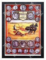Historic Massey-Harris company Monarchs 1891 Advertising Postcard