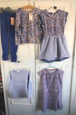 Vêtements bleus coton mélangé pour fille de 6 à 7 ans