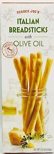 Trader Joe's Italian Breadsticks with Olive Oil 3.5 oz  Box