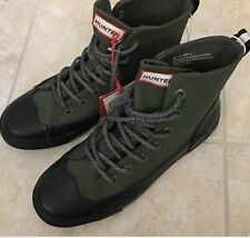 Hunter for Target Adult Unisex Dipped Canvas High Top Sneaker Olive M 13 /W 15
