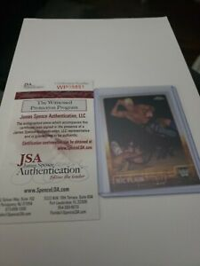 2015 WWE TOPPS CHROME RIC FLAIR REFRACTOR AUTOGRAPH JSA CERTIFIED