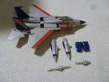 G1 TRANSFORMER STARSCREAM DECEPTICON JET COMPLETE 1984 PLANE F15 ROBOT TAKARA >