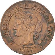 Monnaies, IIIème République, 1 Centime Cérès 1875 K, KM 826.2 #86645