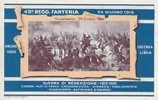 C468) TORINO, 49 REGGIMENTO FANTERIA GUERRA DI REDENZIONE 1915/18. VIAGGIATA.