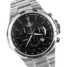 Casio da Uomo/Gents Edifice Quadrante Nero Bracciale in acciaio watch EFR-500D -1 aver RRP £ 135