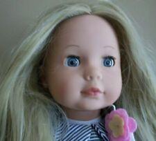 "18"" POTTERY BARN  Kids germany GOTZ   DOLL long hair  Gift"
