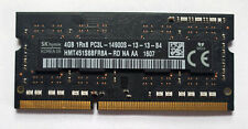 Hynix 4GB DDR3L 1866MHz PC3L-14900S Laptop SODIMM RAM Memory 1.35v 204 pin