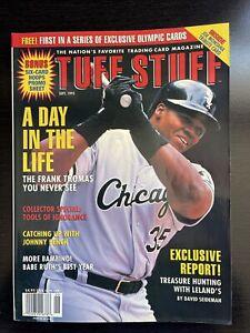 Tuff Stuff Trading Card Magazine September 1995 Frank Thomas Chicago White Sox
