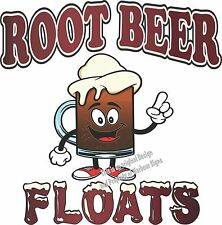 "Root Beer Floats Decal 24"" Ice Cream Concession Restaurant Catering Food Truck"