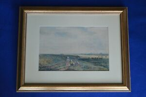 David Cox Snr Signed Watercolour - 1783-1859 - Salisbury