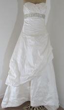 Angelina Faccenda Wedding Dress Style 1046 Size 10with Matching Shawl & Veil