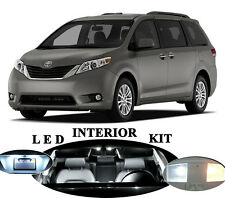 LED for Toyota Sienna Xenon White LED Interior Package Upgrade (11 pieces)