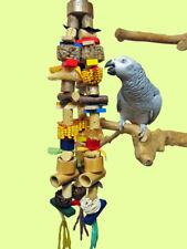 Papageienspielzeug BIT OF EVERYTHING XXL *noch mehr Teile* Trägerseile wählbar