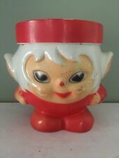 Vintage Christmas Elf Or Pixie Planter