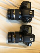 (2) Canon EOS 7D 18.0 MP Digital SLR Camera - and (2) Tamron 17-50mm 2.8f
