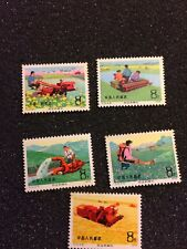 China Stamps T22 Building Dazhai Type Counties  4 of 4 MUH 1975