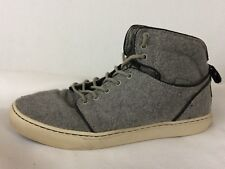 4ca5049db9 Vans OTW Alomar Wool Twill Gray Black 0KX06HP Mens 9 M Skateboarding Shoe  Hi Top