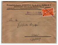 Germany WWII Feldpost w/ Invalidated Stamp / Top Creasing - Z13854