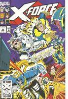 °X-FORCE #20 ASSAULT ON GRAYMALKIN° US Marvel 1993 Fabian Nicieza