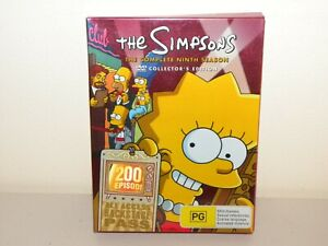 The Simpsons Collectors Edition Complete Ninth Season  - DVD - REGION 4