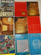 6 Vintage Ballet/Dance/Theater Programs, Royal Danish, Metropolitan Opera