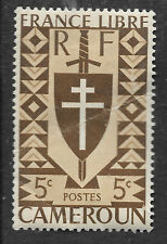 Cameroun 5c1941 FRANCE LIBRE-voir scan