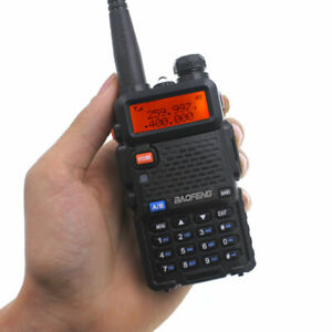 Baofeng UV5R Tri-band 136-174MHz 220-260MHz 400-520MHz 2 Way Radio Walkie Talkie