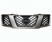 Front Radiator Grille D.Grey & Black For Nissan Navara D40/Pathfinder R51 >01/10