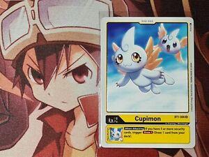 Digimon TCG Cupimon BT1-006 - Rare - Booster to Sleeve