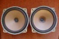 vintage set 2 SEL low/mid drivers + 2 oval tweeters removed from Elac speakers