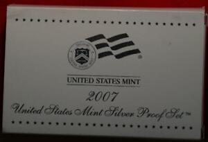 Uncirculated 2007 United States Mint Proof Set
