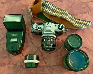 Canon AE-1 Kit with a Canon 50mm Len and MORE!