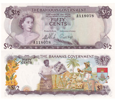 Brilliant Bahamas 1 Dollar 1968 Pick 27a Karibik 3