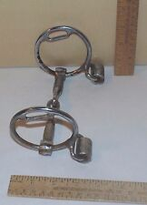 CROCKETT RENALDE SNAFFLE Horse BIT with REIN ROLLERs - Damage to Plating