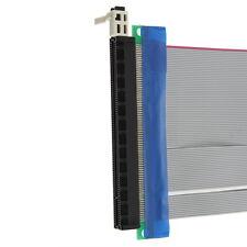 PCI-Express PCI-E 16X  Card Ribbon Extender Extension Cable High Quality SGCC