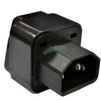 Hot Sale IEC 320 C14 Male to C13 Female 10A Power Adapter PDU UPS APC Adapter