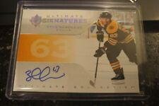 19-20 Ultimate Brad Marchand Ultimate Signatures Auto Boston Bruins WOW