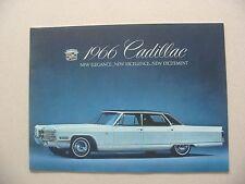 1966 Cadillac Brochure -Near Mint