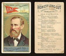 "1887 N127 Duke Sea Captains ""Henry Condron"" VERY GOOD **AA-7765**"