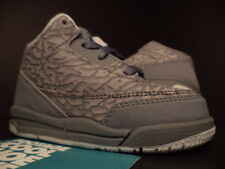 Baby Nike Air Jordan III 3 Retro TD FLIP COOL GREY BLUE BLACK CEMENT DS 5.5C 5.5