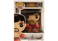 Manny Pacquiao Funko Pop Asia Team Boxer #37 Box Rare Vaulted