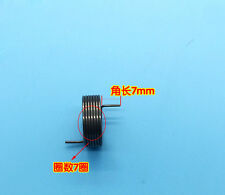 4Pcs Wire Dia 0.8mm OD 16.4mm 7 Coils Torsion Spring Stainless Steel