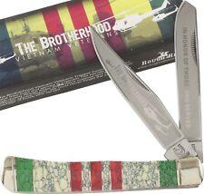 Rough Rider Vietnam Veteran Commemorative Trapper Pocket Folding Knife RR1226